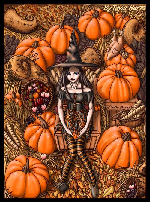 Lenore pumpkin harvest by tavisharts