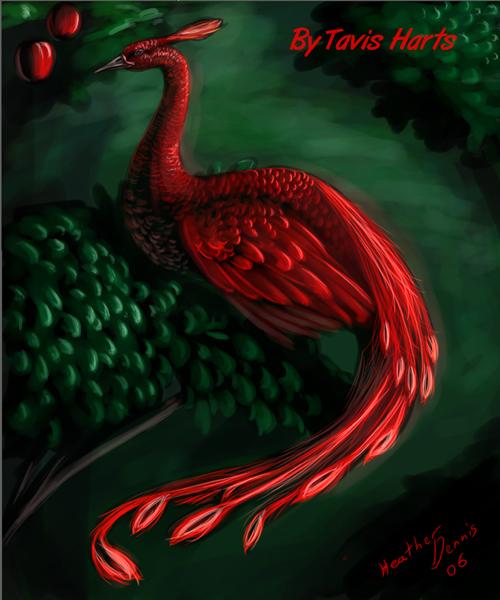 Phoenix and the apples by tavisharts