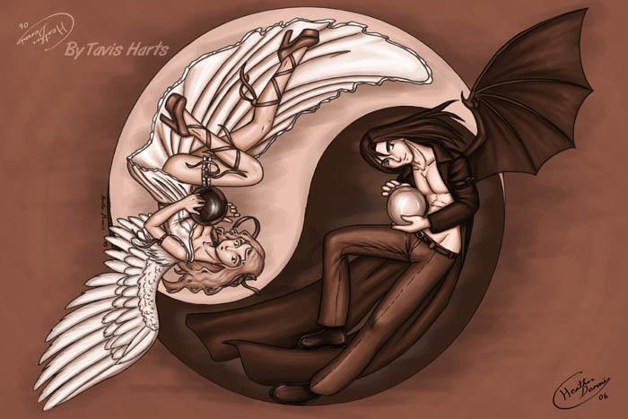 Yin yang by tavisharts