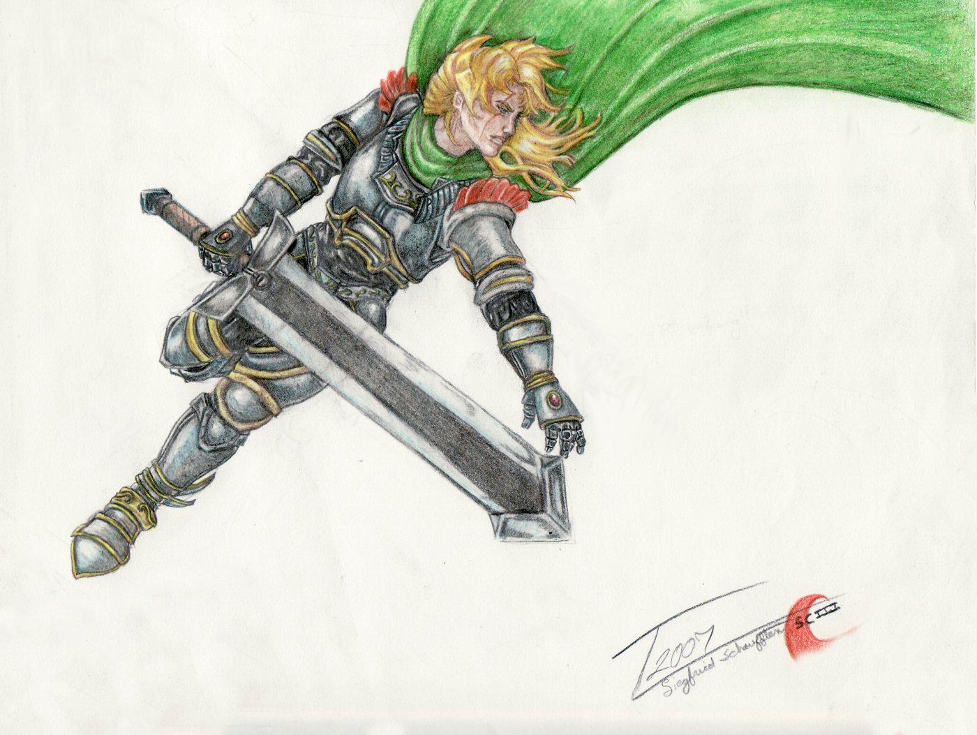 Siegfried-Mid Flight by teal27