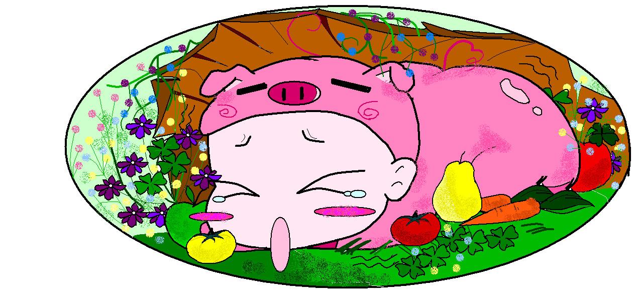 cuty piggy by teresakim