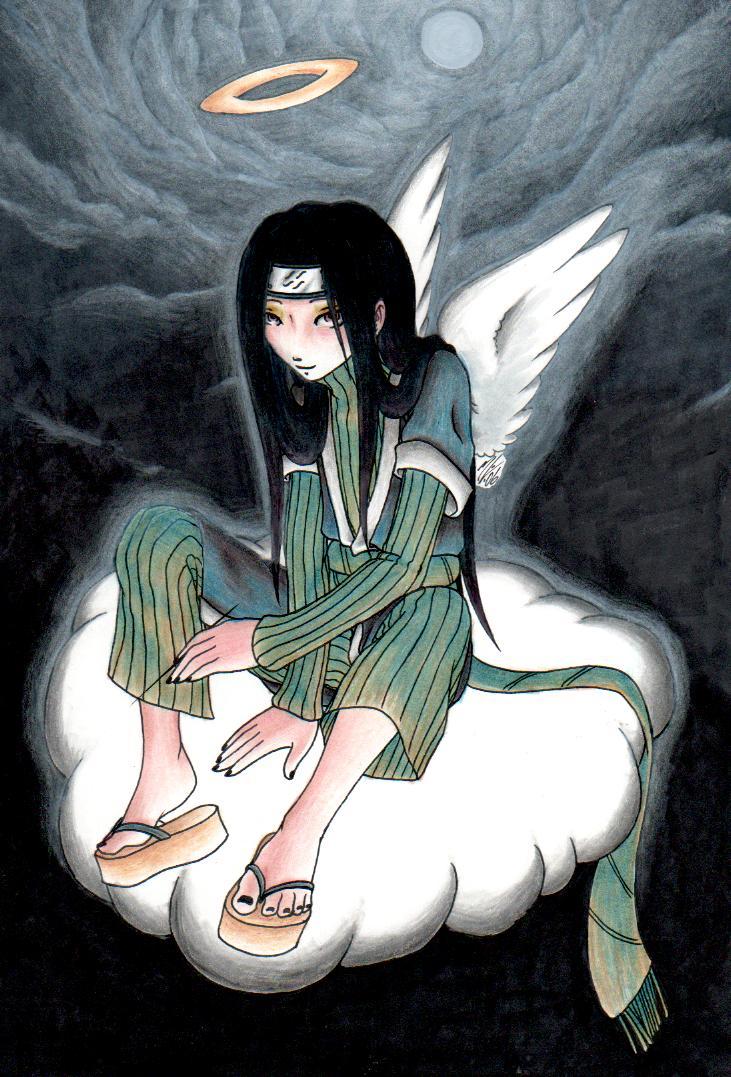 Haku Angel by theblackbutterfly