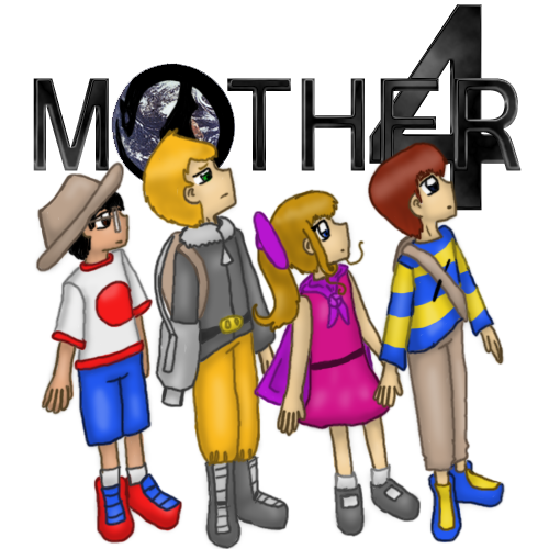 MOTHER 4 heroes by thecompleteanimorph