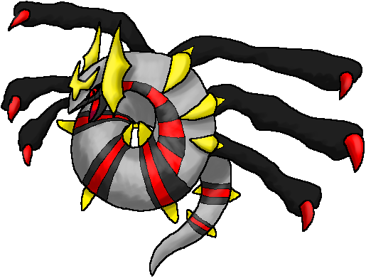 Giratina- Origin Form by thecompleteanimorph