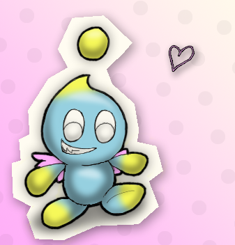 My fave chao, Sprinkles by therougecat