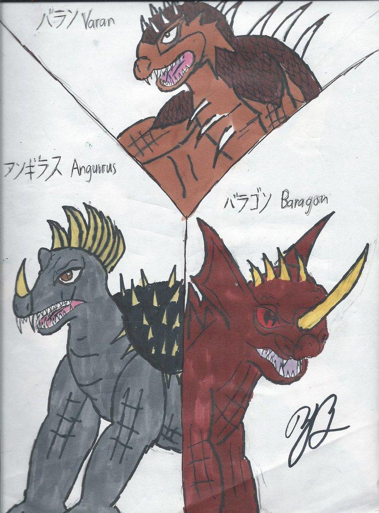 The Three Original Guadians by thezackburg