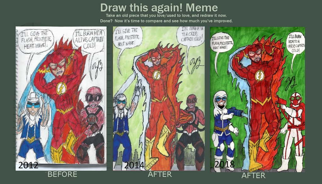 Draw This Again: The Flash #140 by thezackburg