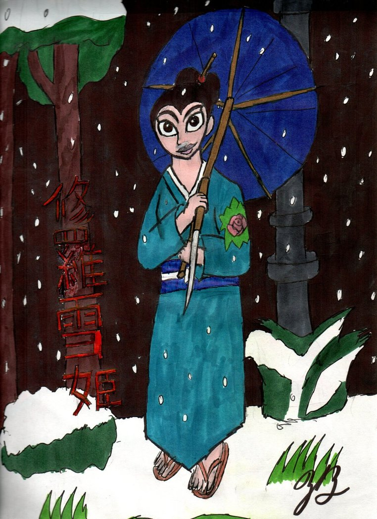 Lady Snowblood by thezackburg