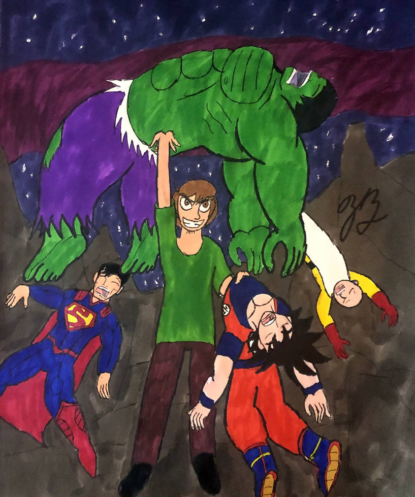 Shaggy is Strongest by thezackburg