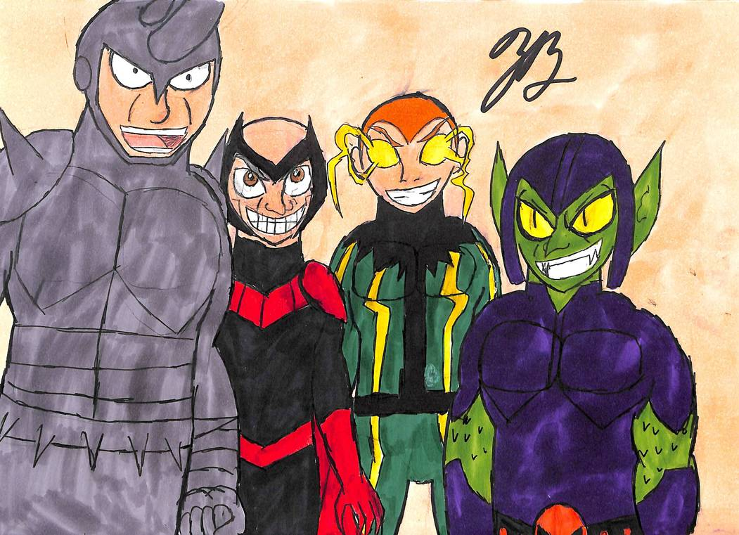 Me and the Boys by thezackburg