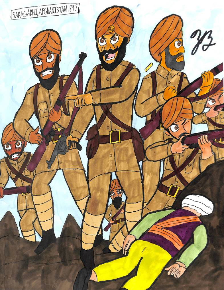 The Sikhs of Saraghi by thezackburg