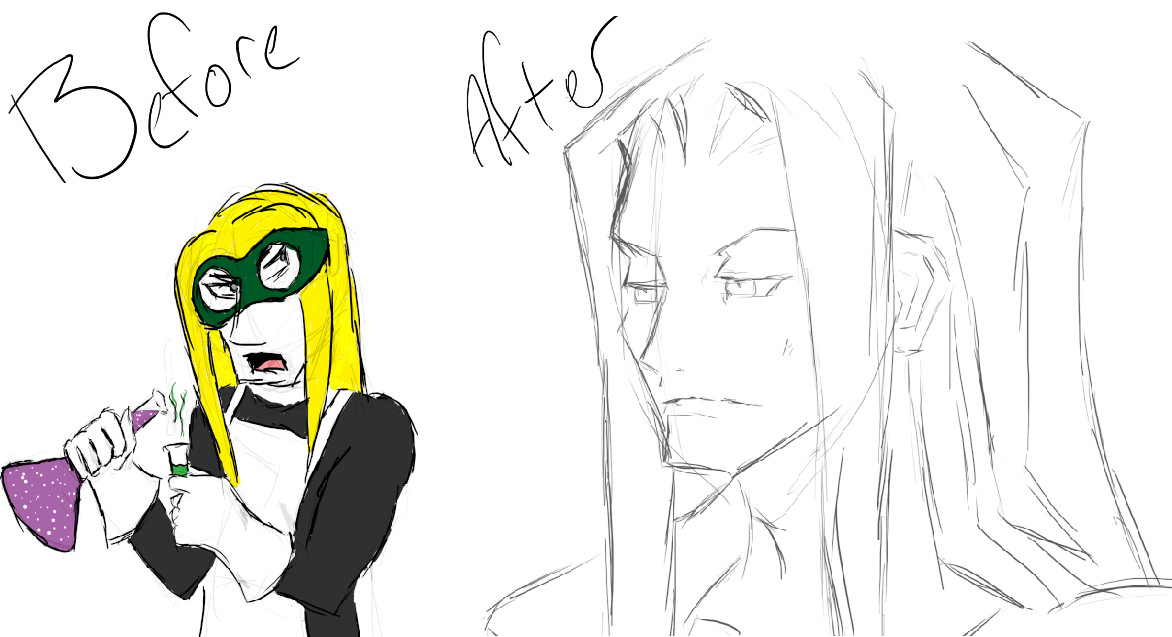 Vexen Before and After by tigra8