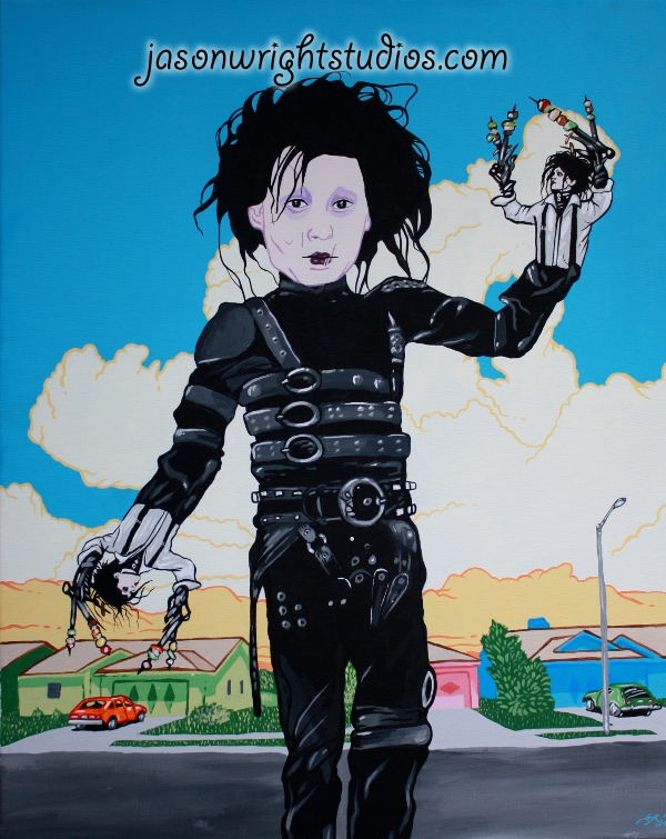Edward Edward Scissorhands Hands by timothyjasonwright