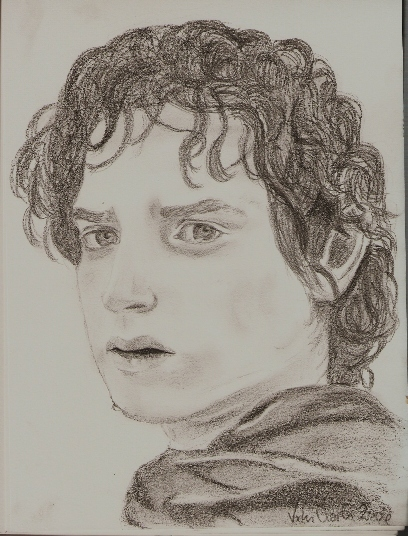 Crying Frodo by trickyvicky1978