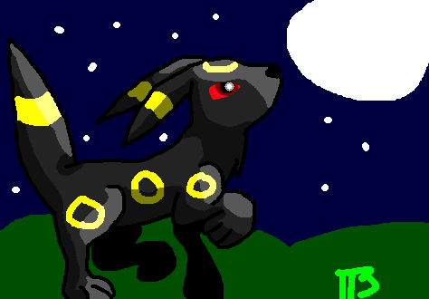 Request for shadowbender: Umbreon by tripletrouble3
