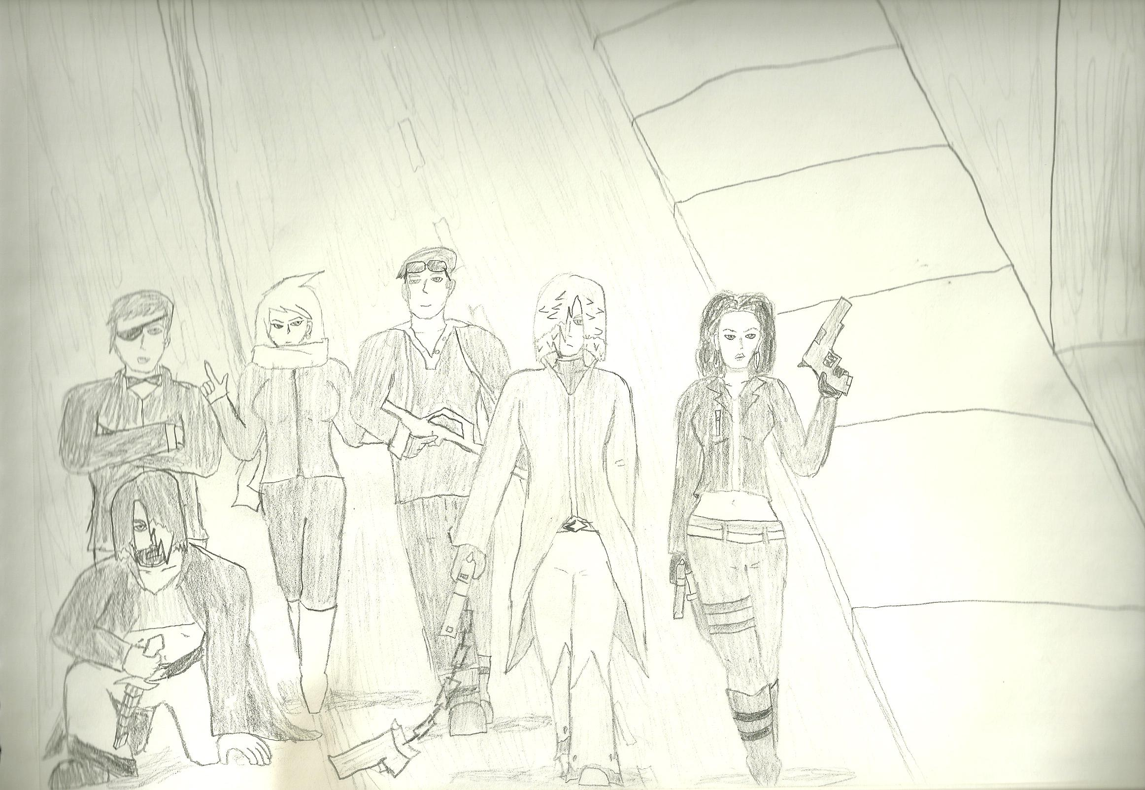 Original Characters by truegamer