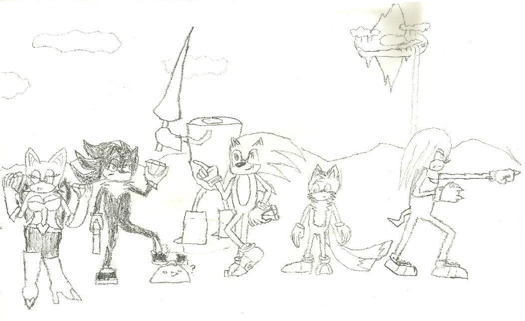 Sonic Heroes by truegamer