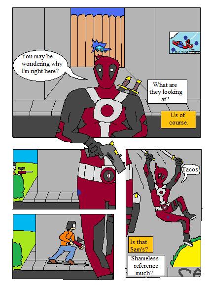 Deadpool by truegamer