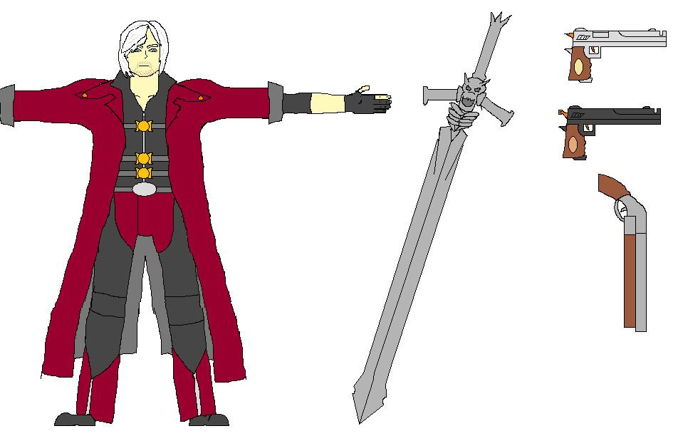 Dante the Devil Hunter animation notes by truegamer