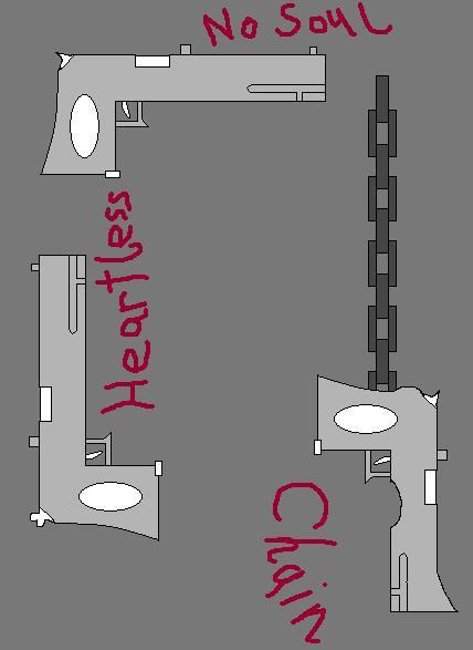Apathy Trio (Sylis' Guns) by truegamer