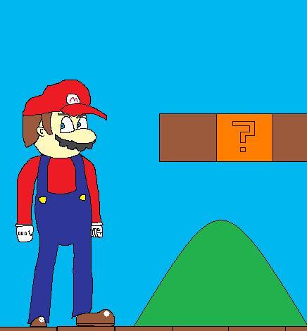Mario by truegamer