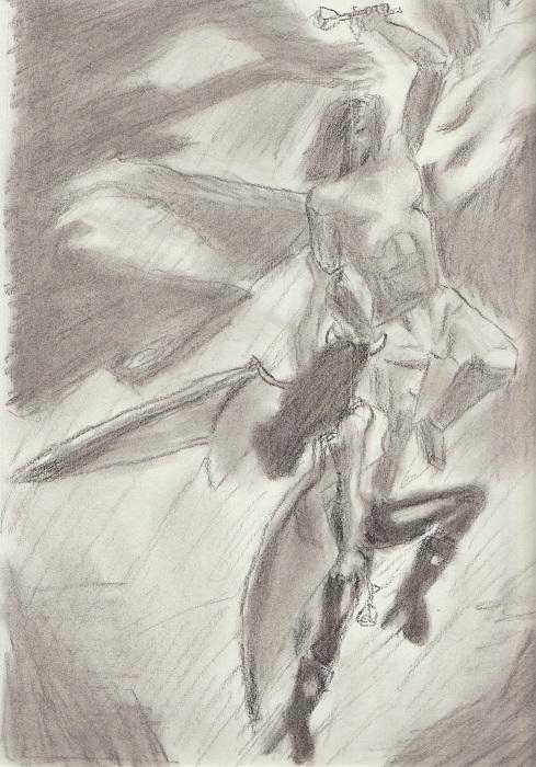 Soliel & Night Queen Flight by truegamer