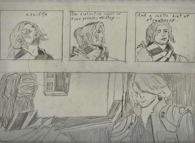 Luka meets Dante by truegamer