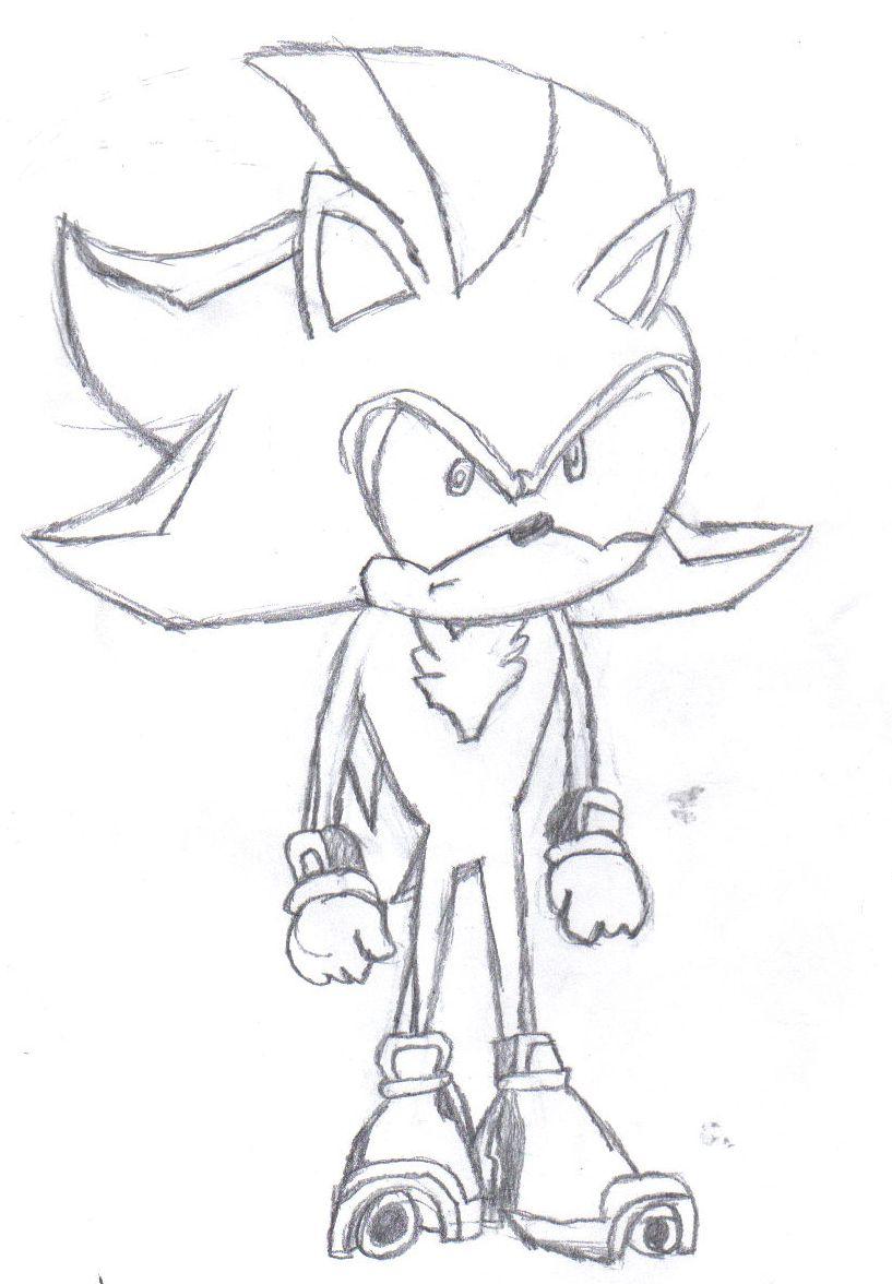 Shadow the Hedgehog by twiddlez