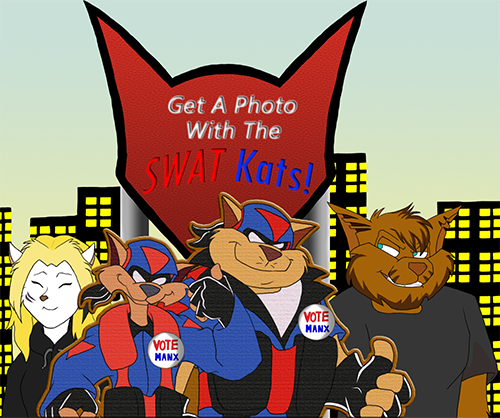 Get A Photo With The SWAT Kats. by UKZ