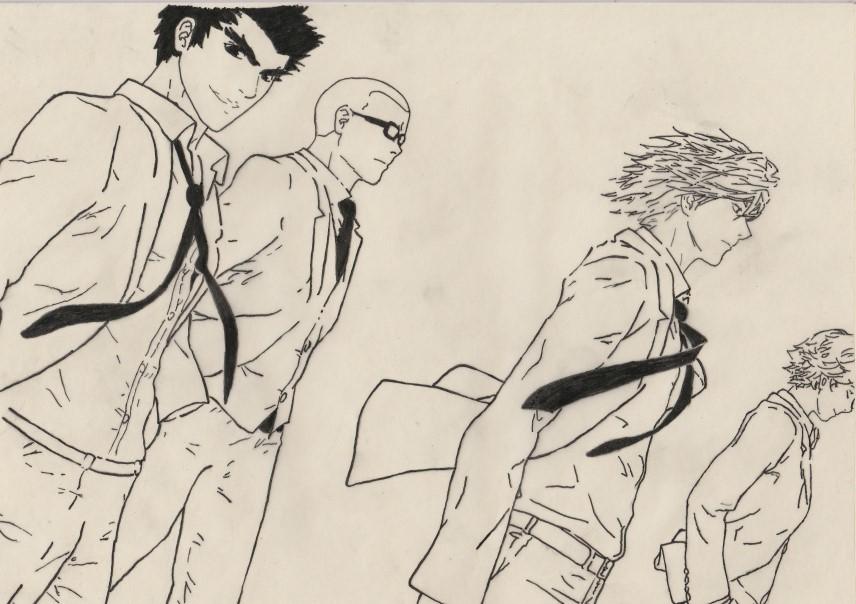 The Gang by Uchiha-Sasuke02