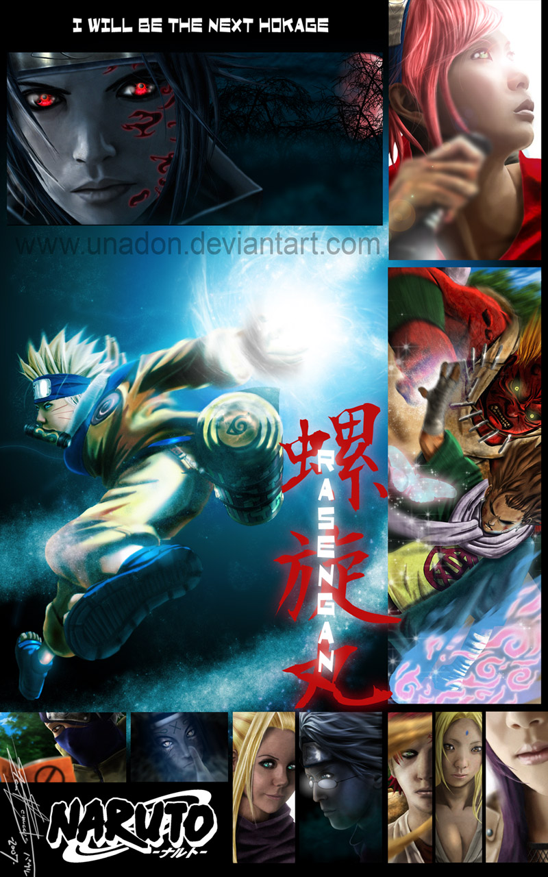 Naruto by Unadon