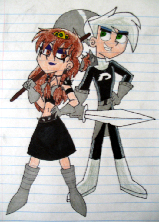 Danny and Carrie in BM by unicorngirl3189