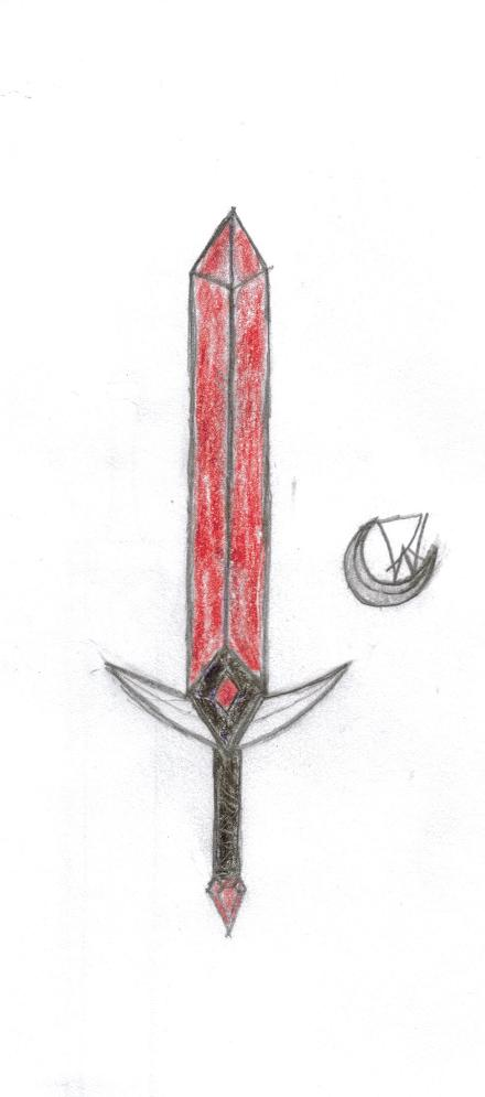Loki's sword(true form) by VahnTheWhiteDragon