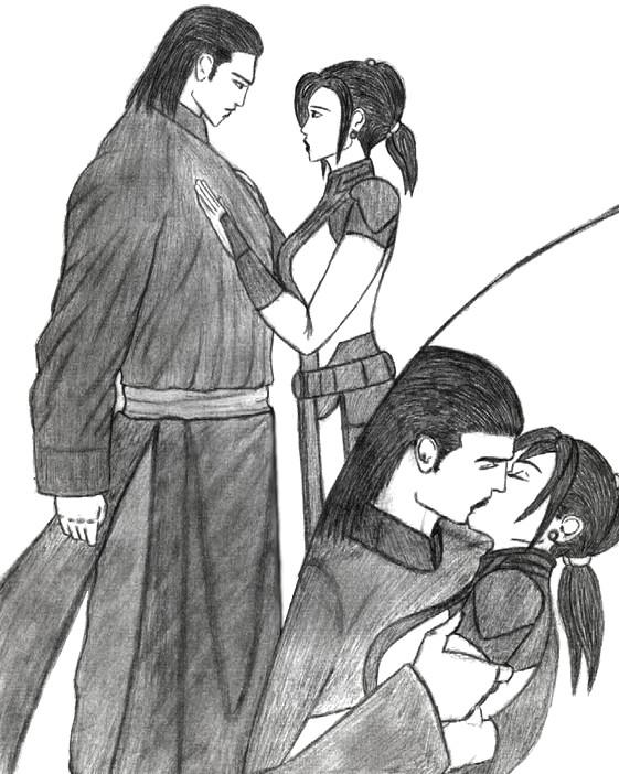 Revan/Bastila: Take Me With You by VampireWarith