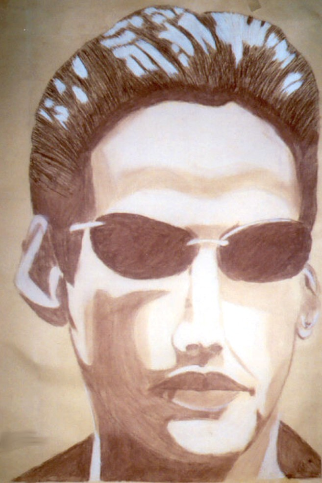 Keanu Reeves: The Matrix by VampireWarith