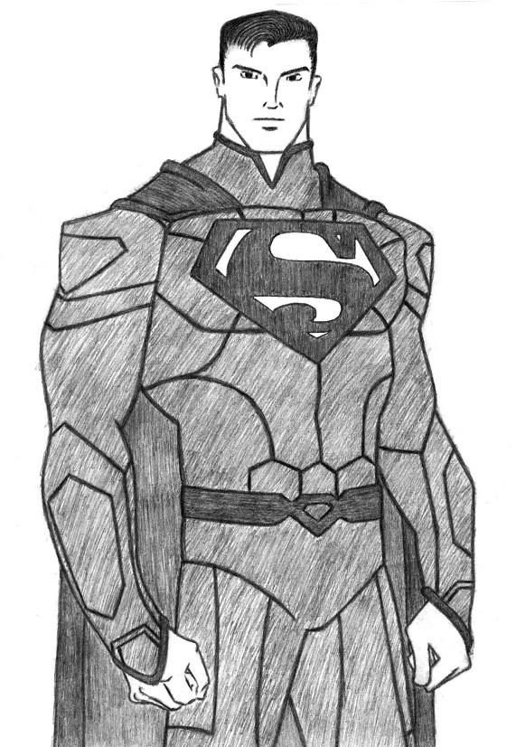 Superman Sketch Fan Art