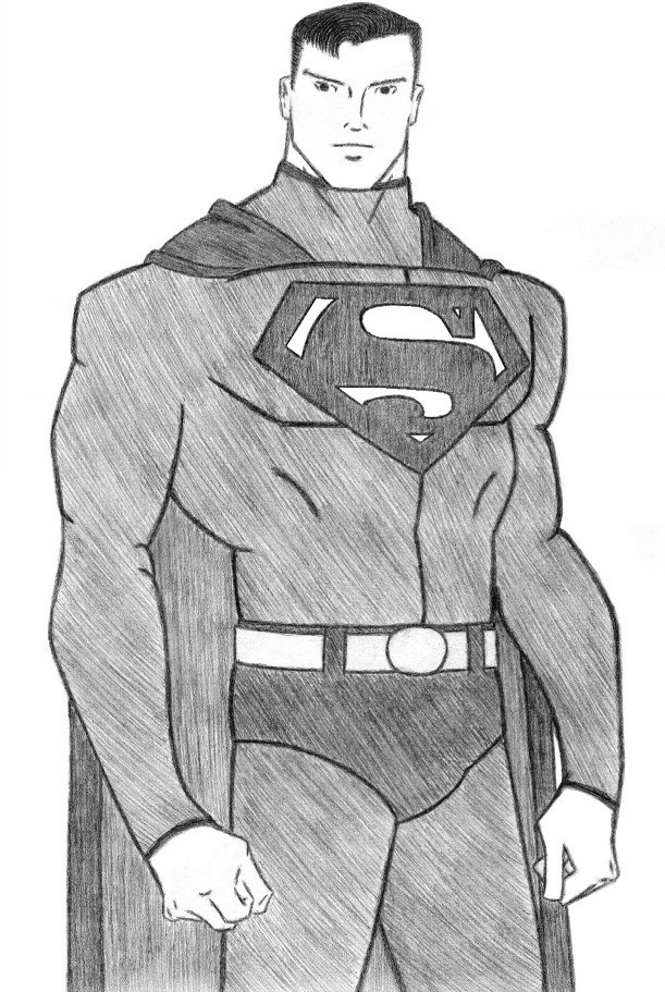 Classic Superman by VampireWarith
