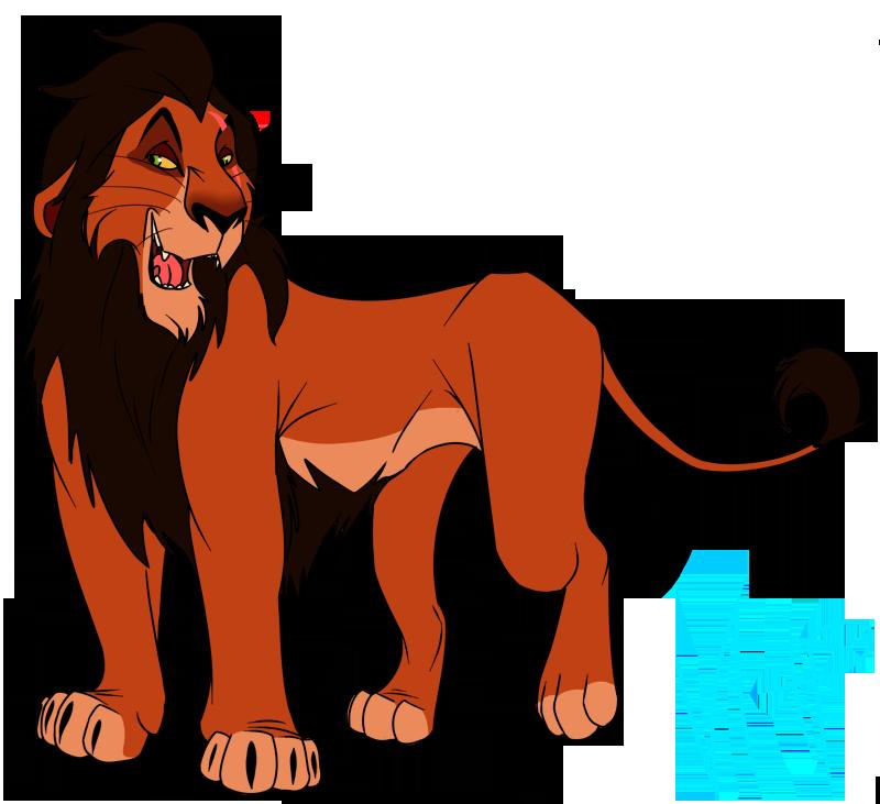 Sneaky Lion by VanHelsingsPet