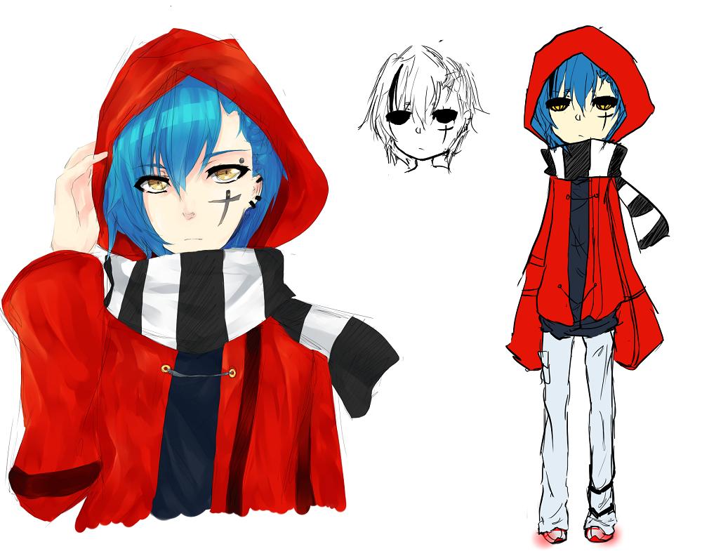 Ryuu(Original character) by Vanilla-Shortcake