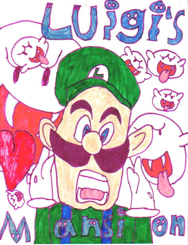 Luigi's Mansion by Venste