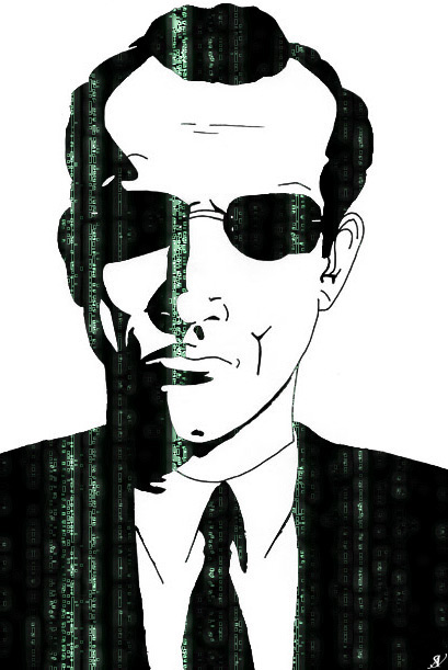 The Matrix is Agent Smith by VeranMovil