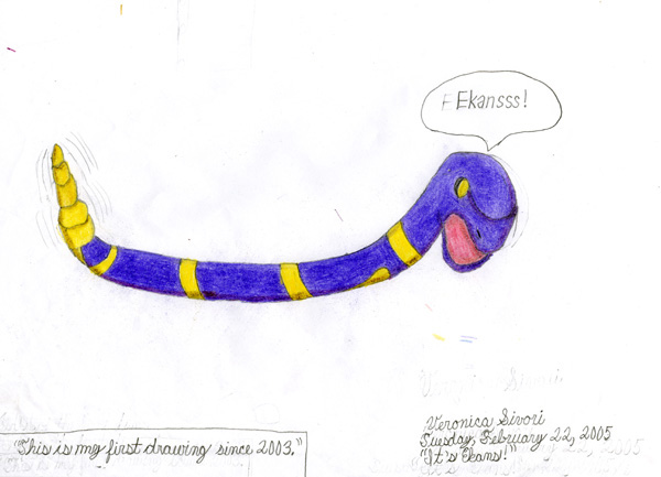It's Ekans! by Veronica