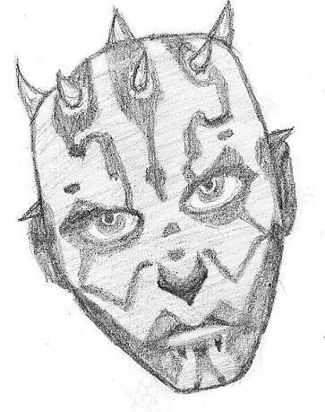Darth Maul by Vexx