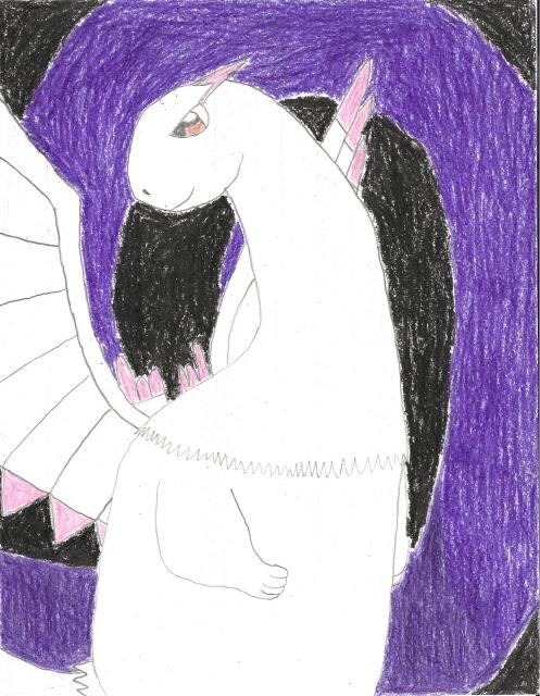 Danielle the mamkute's dragon form by VideogameMaster