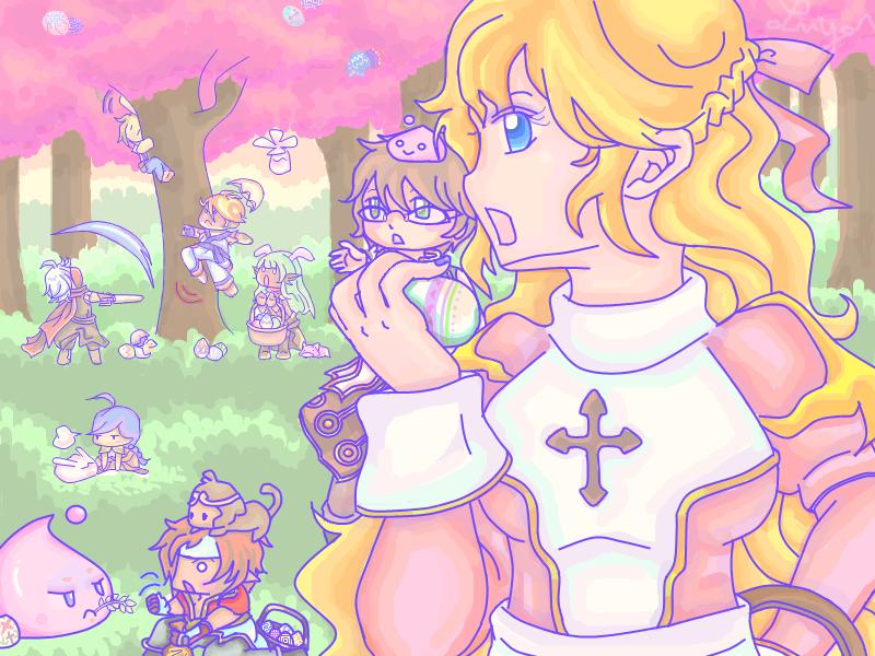 Legend RO Easter by VioletAngel