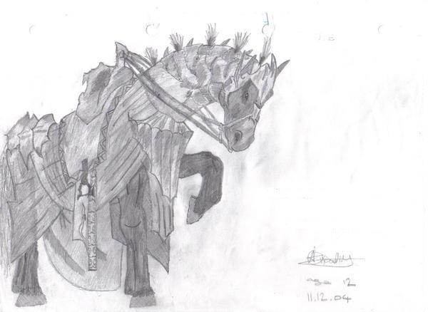 LOTR Horse by VivaLaAmber
