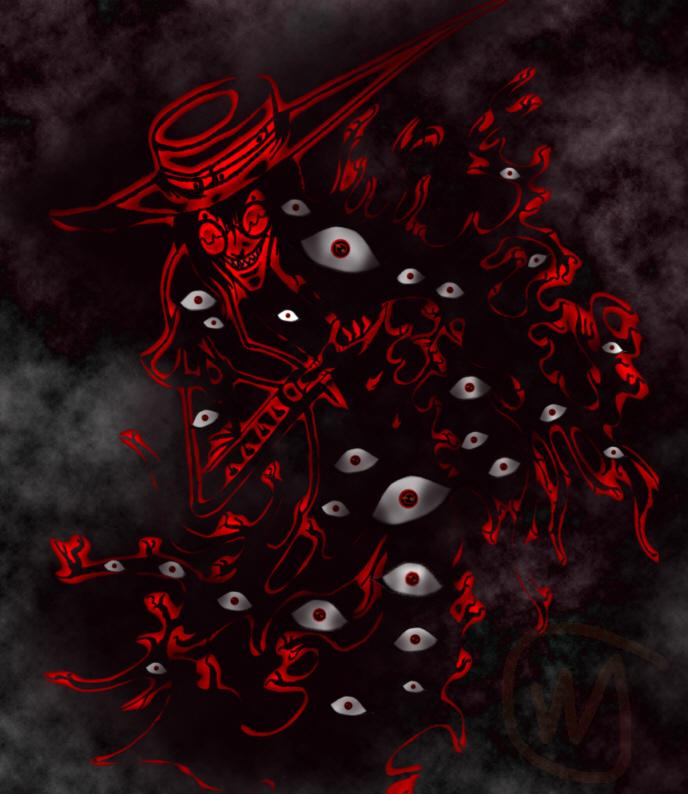 Alucard Cast Bow Eye Ver. by Vmwpoc - Fanart Central  Alucard