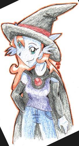 Genie 13 - Halloween Peophin by Vulpixi_Misa