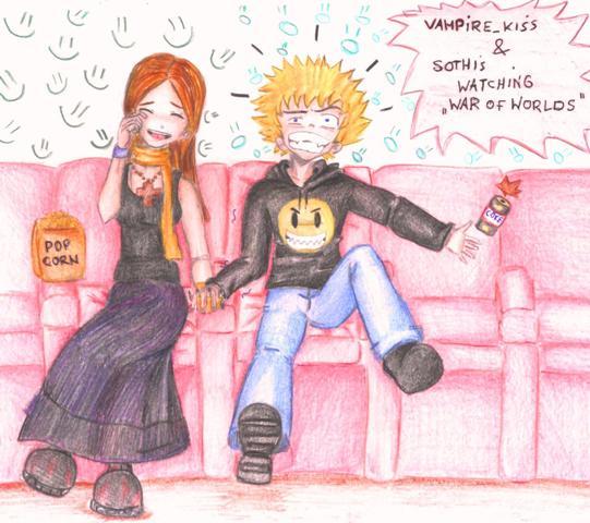 movie watching by vampire_kiss