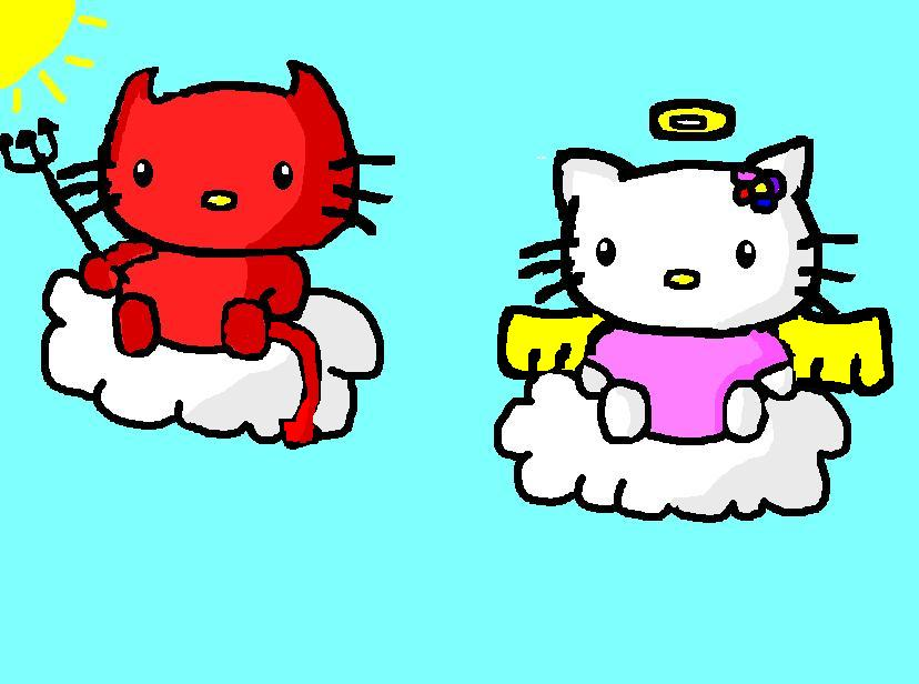 devil hello kitty wallpaper - photo #15